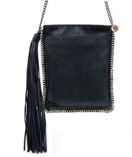 Authentic Stella McCartney Shoulder Bag Chain Fringe