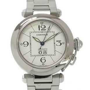 Authentic Cartier Pasha C Big Date W31055M7 Automatic
