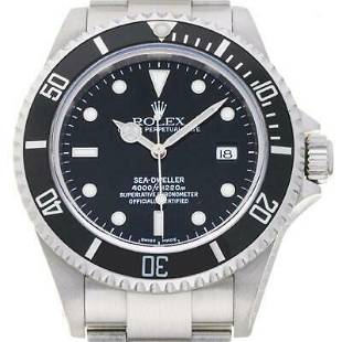 Authentic Rolex Oyster Perpetual Sea-Dweller 16600
