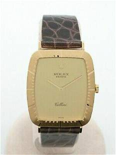 Authentic ROLEX Cellini 4087 Hand-Wound Analog K18