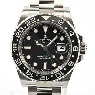 Authentic Rolex GMT Master 2 116710LN Automatic Date