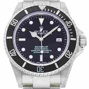 Authentic Rolex Sea-Dweller Y 2002 Men's Watch 16600