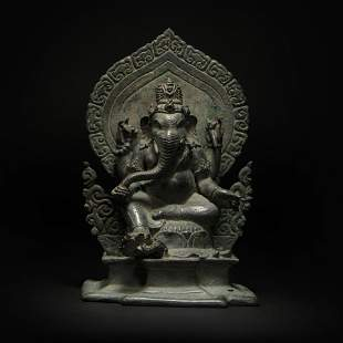 BoSi Copper Buddha Statue from Ancient China