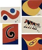 Alexander Calder, Flying Colors, 1974
