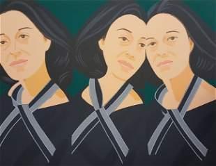 Alex Katz, Grey Ribbon, 1990