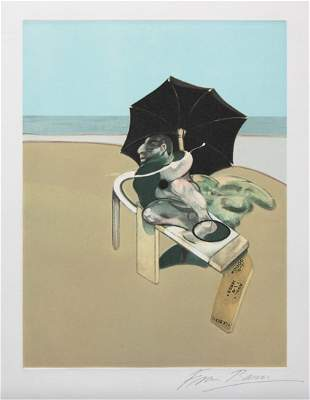 Francis Bacon, Untitled, from Metropolitan Triptych,