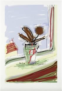 My Bedroom Window by David Hockney