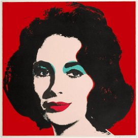 Liz by Andy Warhol