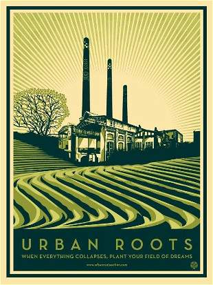 Urban Roots by Shepard Fairey
