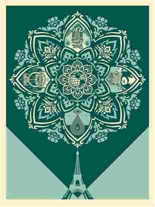 Delicate Balance 2 by Shepard Fairey