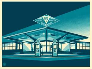 Gas Power Palace by Shepard Fairey