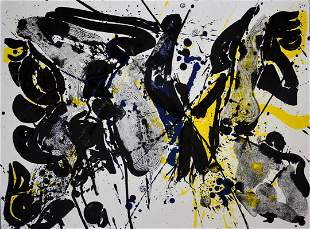 For Miro I by Sam Francis