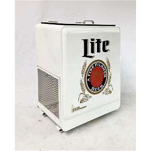 Miller Lite Rolling Cooler/Ice Box