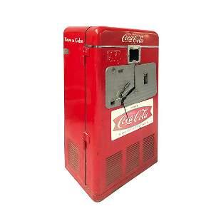 Original Coca-Cola Vendo 27A Vending Machine