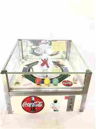 Coca-Cola Themed Dutch Racing Arcade Game