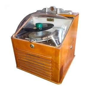 1950s Ristaucrat Table Model Jukebox