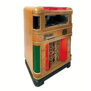 Original 1939 Wurlitzer Jukebox Model 616 - Light Up