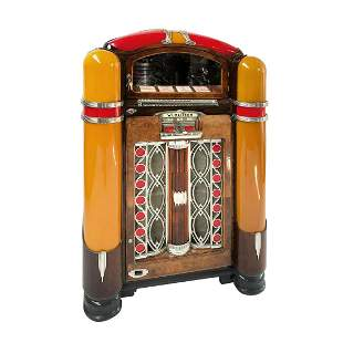 Restored Original 1941 Wurlitzer 800 Jukebox