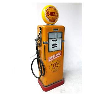 Bowser Gas Pump with Shell Theme