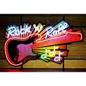 New Rock 'N' Roll Neon Sign with Backplate