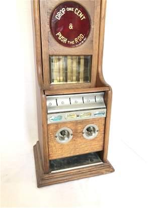 Original Stollwerck Chocolate Vending Machine ca. 1890s
