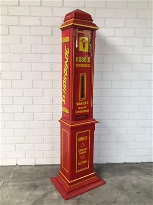 Original 1915 Kobold Chocolate Vending Machine