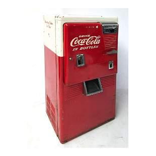 Original Westinghouse Coca-Cola Vending Machine ca.