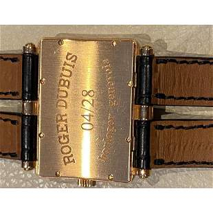 """Roger Dubuis """"Too Much"""" 18K Rose Gold Limited ed. Watch"""