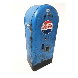 Original Jacobs 50 Pepsi-Cola Vending Machine ca. 1950