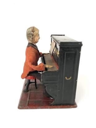 French Fernand Martin Pianist Automaton ca. 1885 - 1910