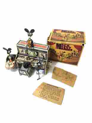 A Complete Set of Tin Toys Marx Merry Makers