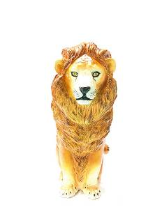Large Vintage Italian Lion Statue from 1960s