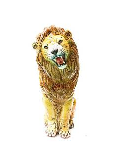 Vintage Italian Lion Statue from 1960s