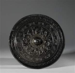 Tang Dynasty - Bronze Figure Mirror