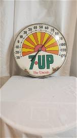 Vintage 7-UP Thermometer