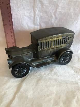 Cast Iron Bank Vintage Car