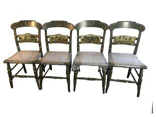 Hitchcock Chair Company - Set of 4 Presidential Chairs