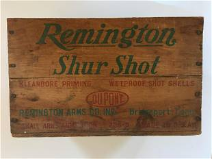 Remington Shur Shot Ammo Box