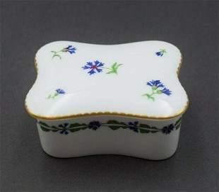 Tiffany & Co. Limoges France Porcelain Trinket Box