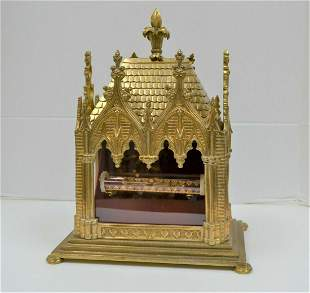 Large Reliquary Shrine with Tube Relic of St. Veronica
