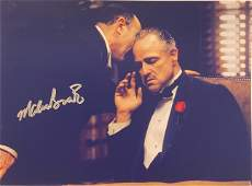 Autograph Signed Godfather Marlon Brando Photo
