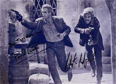 Autograph Signed Butch Cassidy and the Sundance Kid