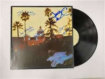 Autograph Signed Eagles Hotel California Vinyl