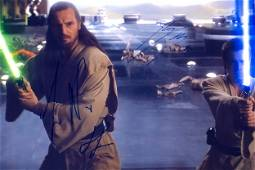 Autograph Signed Star Wars Ewan McGregor Photo