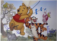 Winnie the Pooh Autograph Signed Photo
