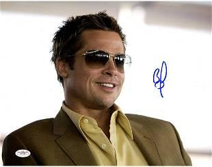 Autograph Signed Brad Pitt Photo
