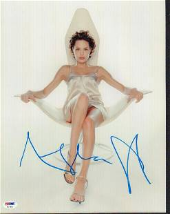 Autograph Signed Angelina Jolie Photo
