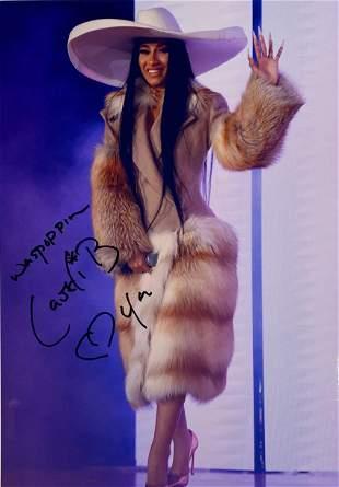 Autograph Signed Cardi B Photo