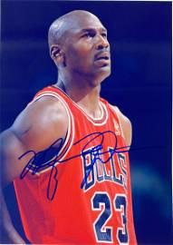 Autograph Signed Michael Jordan Photo