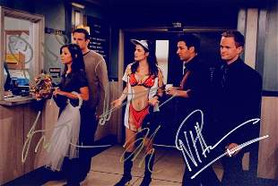 Autograph Signed How I Met Your Mother Photo